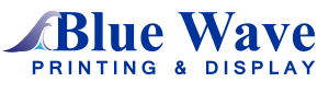 Blue Wave Printing Logo